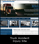 Truck Accident Injury Site